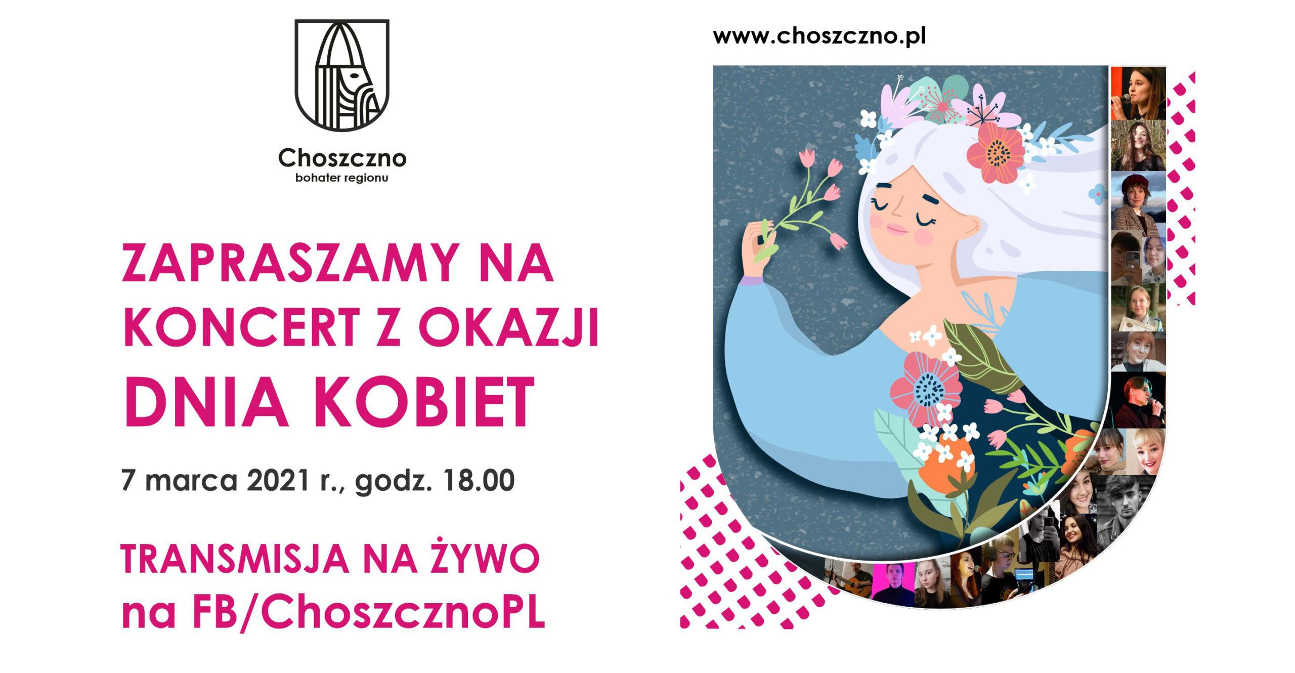 koncert z okazji dnia kobiet plakat